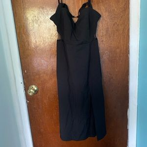 BRAND NEW CHARLOTTE RUSSE BLACK DRESS